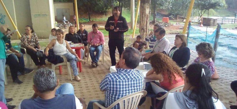 reunion con la comuna 9